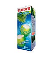 Agua De Coco Sococo 1l Caixa