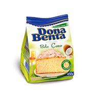 Mistura Bolo Dona Benta Coco 450g Pacote