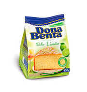 Mistura Bolo Dona Benta Limao 450g Pacote