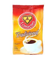 Café 3 Corações Tradicional 250g