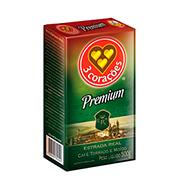 Café 3 Corações Premium 500g Vácuo