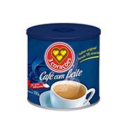 Café 3 Corações Com Leite 330g Lata