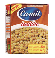 Lentilha em Conserva Camil 247g