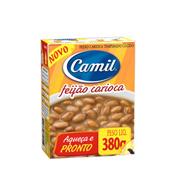 Feijão Carioca Camil Pronto 380g