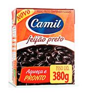 Feijão Preto Camil Pronto 380g