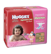 Huggies Turma da Mônica Supreme Care Soft Tou