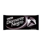 Barra De Chocolate Lacta Diamante Negro 200g