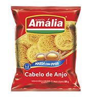 Macarrão Cabelo De Anjo Santa Amália Com Ovos