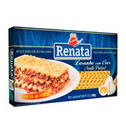 Massa Renata C/ovos Lasanha 500g Pacote