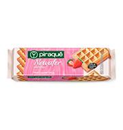 Biscoito Piraque Newafer Morango 100g Pacote