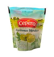 Azeitona Cepera Verde 100g Sache