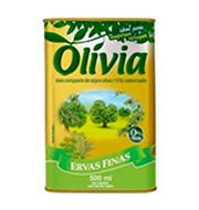 Oleo Composto Olivia Ervas Finas 500ml Lata