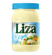 Maionese Liza Light Pote 250 g