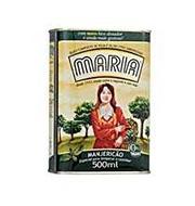 Azeite Composto Maria ManjericÃo 500ml Lata