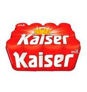 Cerveja Kaiser Pilsen Lata 350ml (12 Unidades