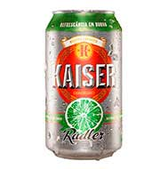 Cerveja Kaiser Radler 350ml Lata