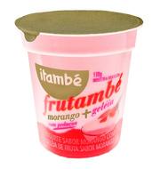Iogurte Frutambé Morango e geléia de Morango