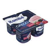 Iogurte Itambé Grego Sabor Frutas Vermelhas 4
