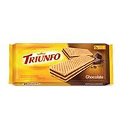 Biscoito Wafer Triunfo Chocolate 145g Pacote