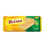 Biscoito Triunfo Wafer LimÃo 145g Pacote