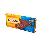 Biscoito Triunfo Wafer  Choco/chocolate 145g