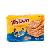 Biscoito Agua E Sal Triunfo 375g Pacote
