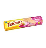 Biscoito Triunfo Recheado Morango 120g Pacote
