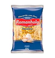 Macarrão Romanhola C/ovos Parafuso 500g Pacot