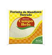 Farinha Mandioca Fina Campo Belo 500g Pacote