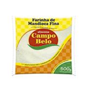 Farinha Mandioca Campo Belo Torrada Fina 500g