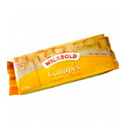Torrada Wickbold Canapes 120g Pacote
