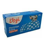 Manteiga Elege C/sal 200g Tablete