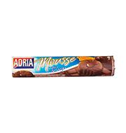 Biscoito Adria Mousse Chocolate/amargo 150g P