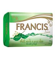 Sabonete Francis 90g Suave Verde 90g