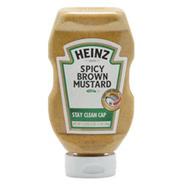 Mostarda Heinz Stay Clean Cap 496g