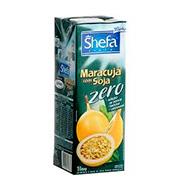 Suco Shefa De Soja Com MaracujÁ Zero 1l Caixa
