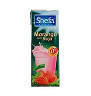 Suco Shefa De Soja Com Morango 1l Caixa