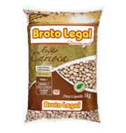 Feijão Carioca Broto Legal Tipo 1 1Kg