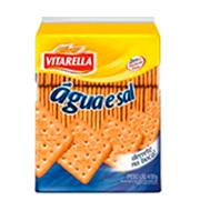 Biscoito Vitarella Agua E Sal 400g Pacote