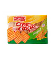 Biscoito Vitarella Cream Cracker Crocks 420g