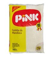 Farinha de Mandioca Branca Pink 1kg
