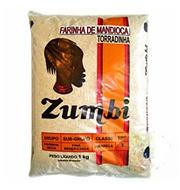Farinha de Mandioca Torradinha Zumbi 1kg