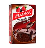 Chocolate Em PÓ Da Barra 200g Caixa
