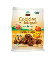 Cookies MÃe Terra Organico Banana E Cacau 120