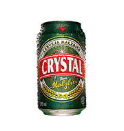 Cerveja Crystal Malzbier Lata 350 Ml