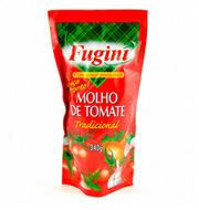 Molho de Tomate Fugini Tradicional Sachê 340