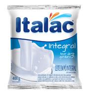 Leite Em Pó Italac Integral 400g  Pacote