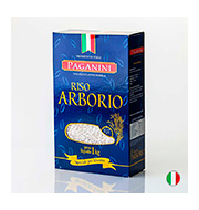 Arroz Integral Arborio Paganini 1kg  Pacote