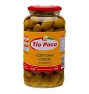 Azeitona Verde Tio Paco Vidro 500g