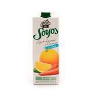 Suco Soyos De Soja Laranja / Cenoura 1l